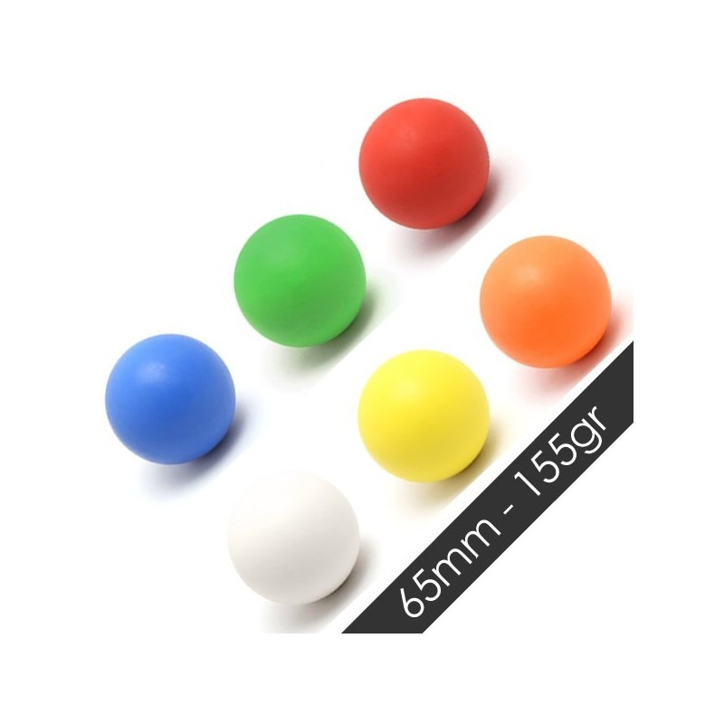 Pelota de Rebote G-FORCE 65mm 155gr Blanca