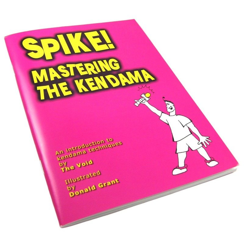 "Libro ""Spike! Mastering the Kendama"""
