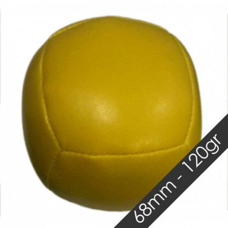 Pelota GRANO SUPER CUBE 68 mm 120 gr Amarillo