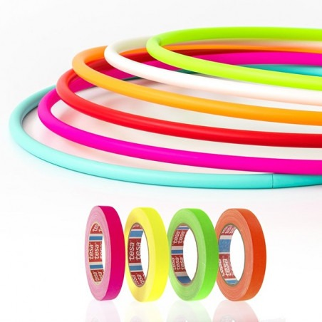 Set Hula Hoop: PLAY PERFECT HOOP plegable 16mm + Cinta decoración