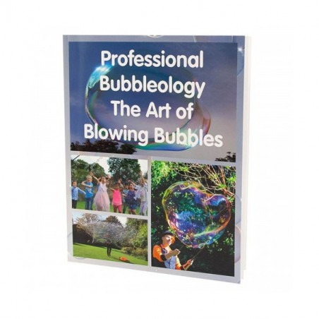 Libro  Professional Bubbleology - The Art of Blowing Bubbles Book