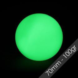 Pelotas de escena 70mm 100 gr fluorescentes.