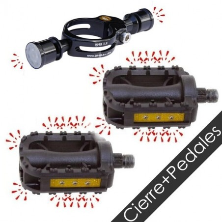 PACK LED - Pedales LED + Cierre Allen LED