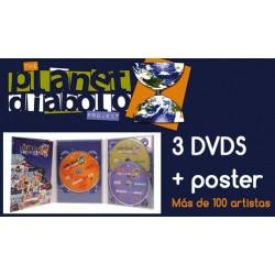 3 DVDs Planet Diábolo + Póster
