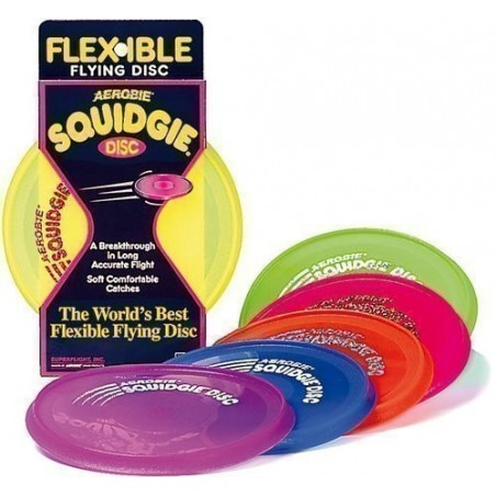 Frisbee squidgie - Disco volador flexible