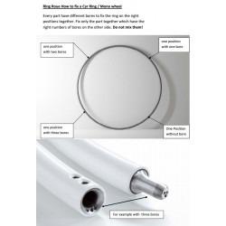 Instrucciones de montaje de la rueda cyr Zimmerman