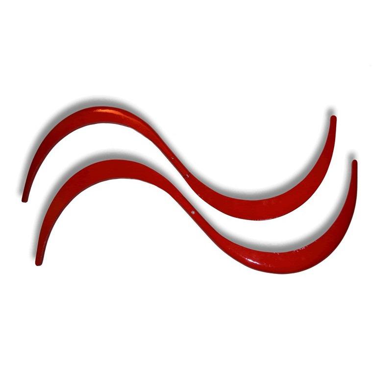 Buugeng Plegable Artesanal - Palo con forma de S de contact - Par