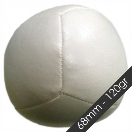 Pelota GRANO SUPER CUBE 68 mm 120 gr Blanco