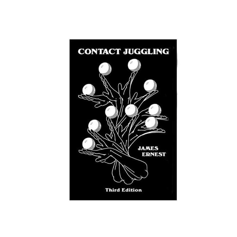 Libro Contact Juggling Book - James Ernest
