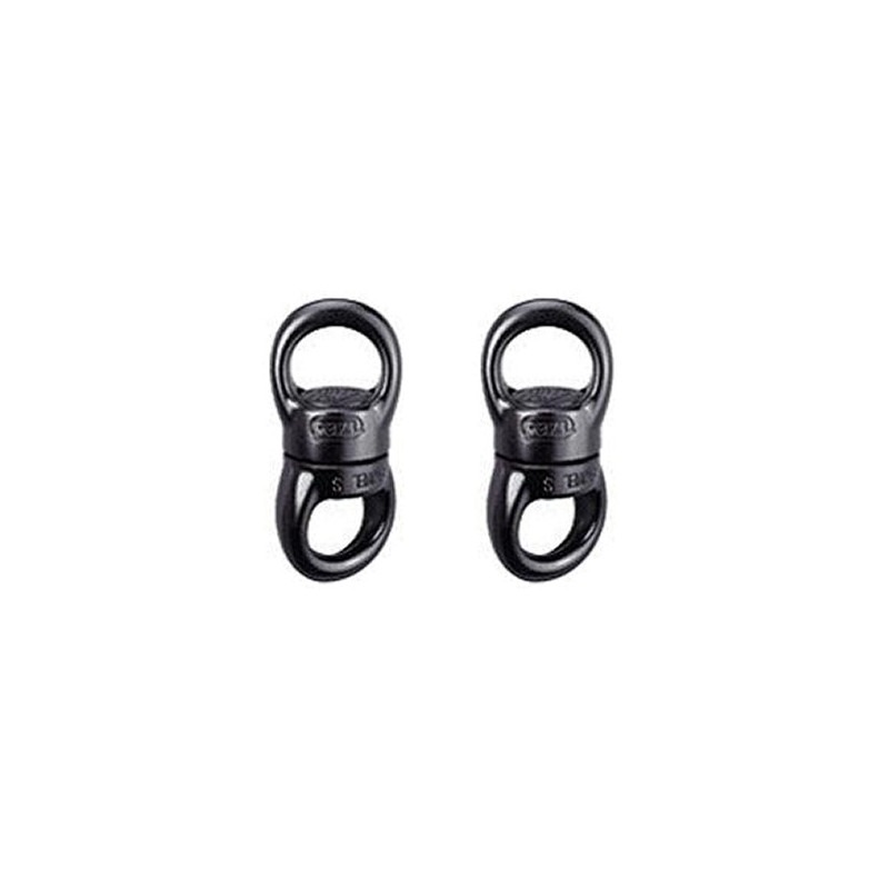2 x Giratorio inferior para Strap - PETZL 2 eyes Ø24mm BLL 23KN