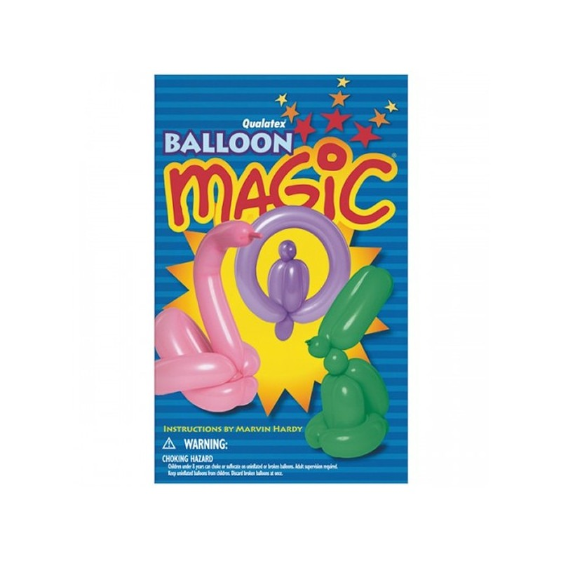Libro Qualatex Balloon Magic Mini Book