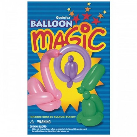 Libro Qualatex Balloon Magic Mini Book
