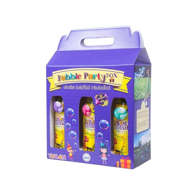 Set para pompas Party Box TUBAN