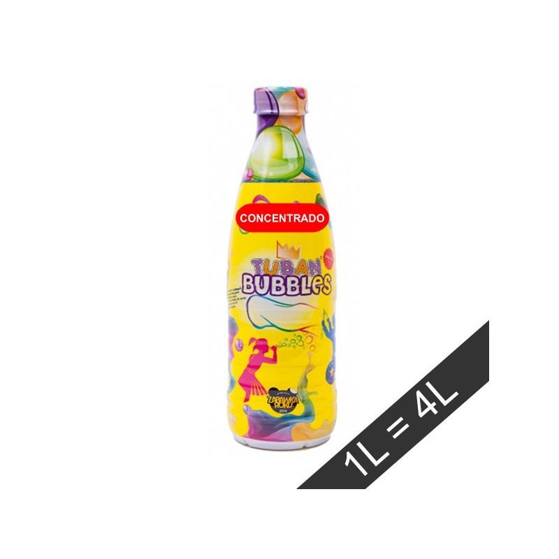 Líquido para pompas de jabón 1L concentrado TUBAN
