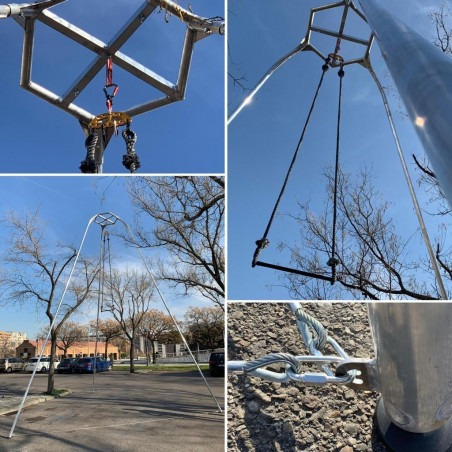 Estructura tripode aéreos - Spider