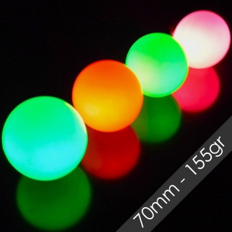 Pelota LED FADE 70mm 155gr