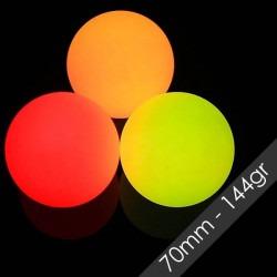 Pelota LED 70mm 144gr -...