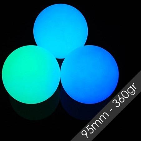 Pelota LED 95mm 360gr Multifunción Recargable- Juggle Dreams