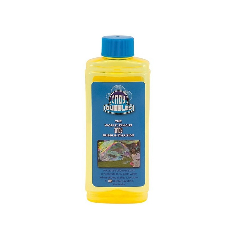 Liquido para pompas de jabón 256ml Indy