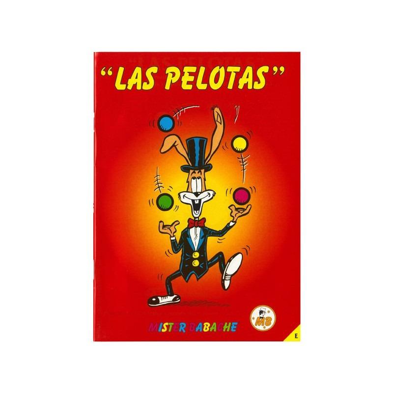"""Libro """"Las Pelotas"""" - Mister Babache"""
