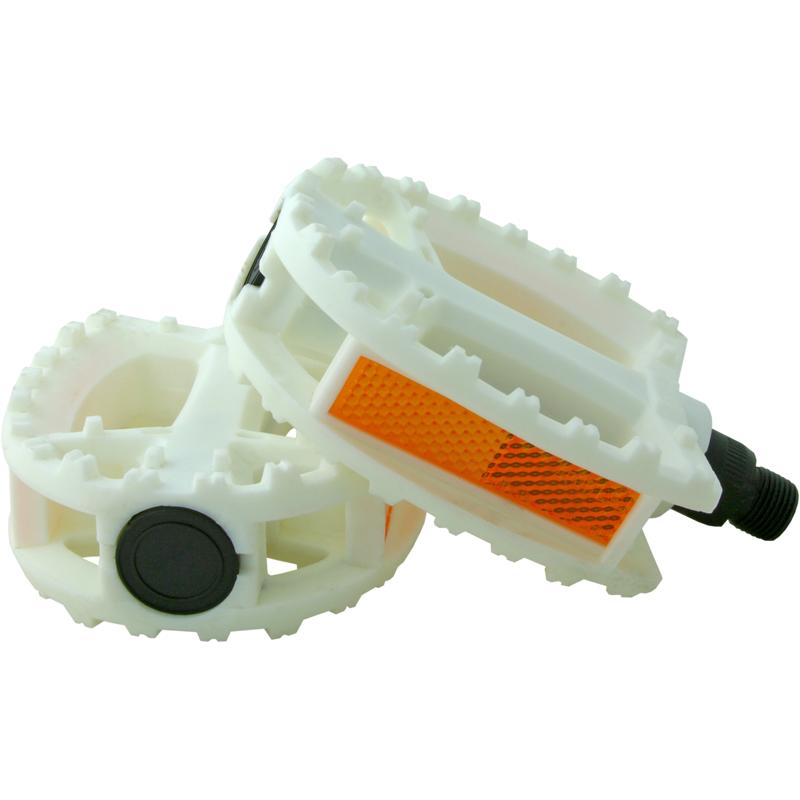Pedales standard plástico - Blanco